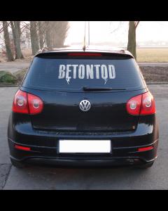 BETONTOD 'Logo' Heckscheibenaufkleber