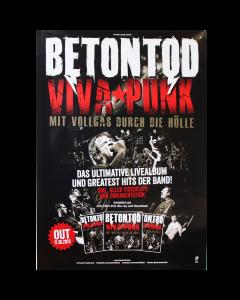 BETONTOD 'Viva Punk!' Poster